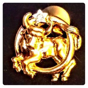 Jewelry - Vintage Taurus pin/brooch